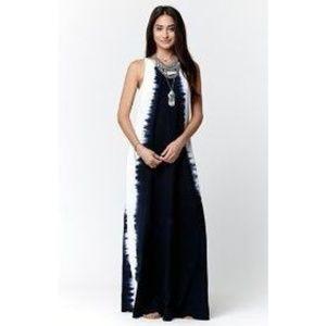 VOLCOM Sidewinder Tie Dye Maxi Dress XS